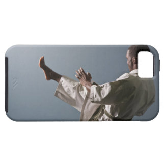 African American man working out the gym iPhone 5 Case