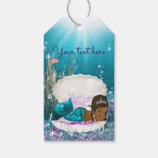 African American Mermaid Baby Shower Favor