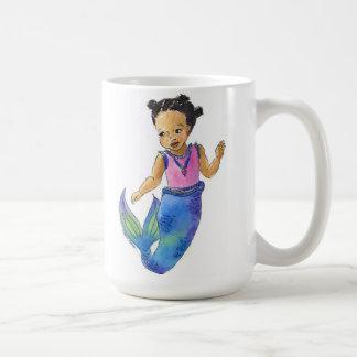 African American Mermaid mug