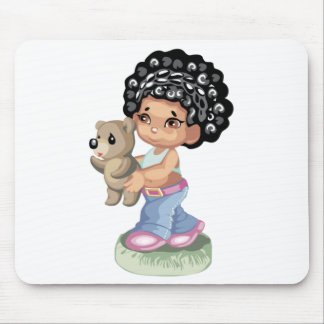 African American Mousepad Mouse Pad