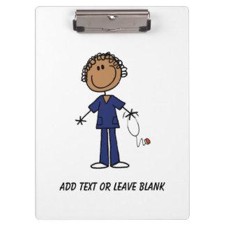 African American Nurse Aide Clipboard