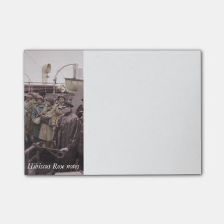 African American Nurses on Shipboard Post-it® Notes