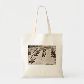 African American Nurses Working Out Budget Tote Bag