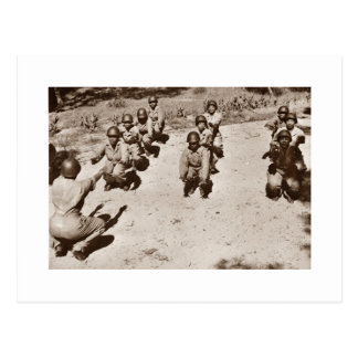 African American Nurses Working Out Post Card