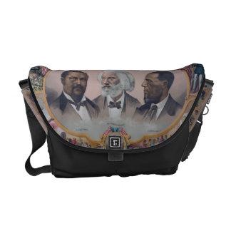 African American Pioneers Messenger Bags