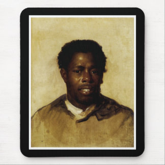 African-American Portrait Mouse Pad