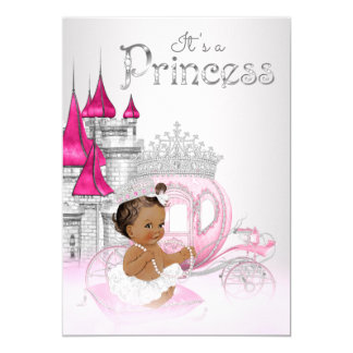 african american princess baby shower invitations & announcements, Baby shower invitations