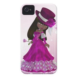 African American Princess Blackberry Case