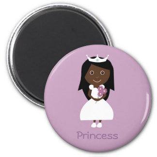 African American Princess magnet