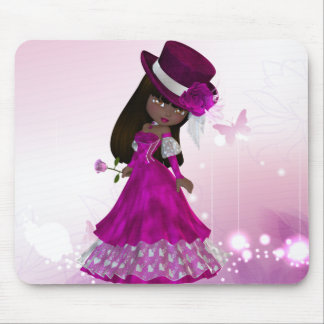 African American Princess Mousepad