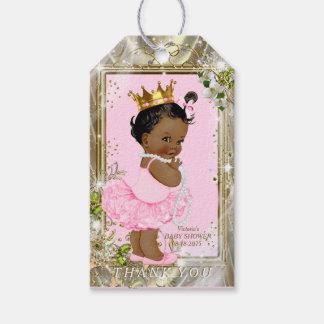 African American Princess Pink Tutu Baby Shower