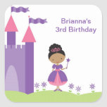 African American Princess Stickers