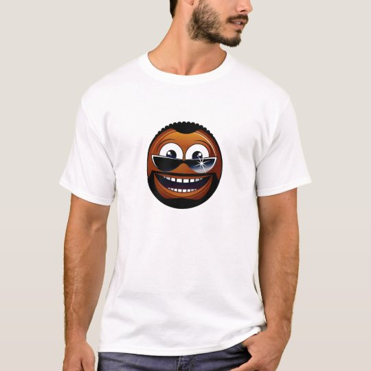 African-american smiley T-Shirt