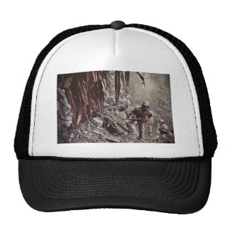 African American Soldiers on Guam WWII Cap