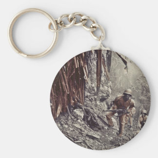 African American Soldiers on Guam WWII Key Chains