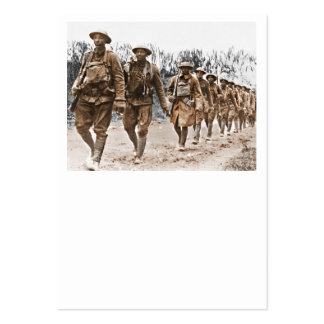 African American Soldiers WWI Pack Of Chubby Business Cards