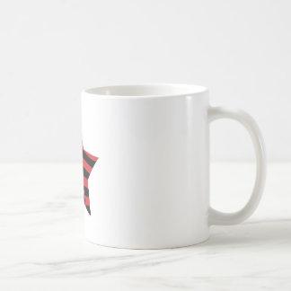 African American Star Basic White Mug