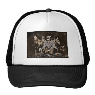 African American Steelworkers WWII Cap