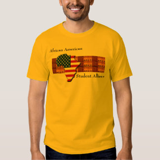African American Student Alliance Urban Campus T-shirt
