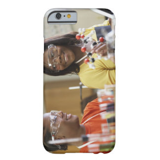 African American teenagers in science class Barely There iPhone 6 Case