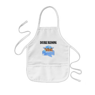 African American Twin Boys  Double Blessing Apron
