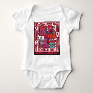 African American - Village life - Aftrican Art Baby Bodysuit