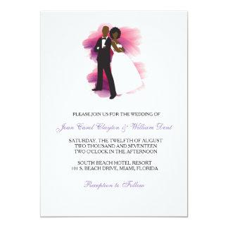 african american wedding invitation - African American Wedding Invitations