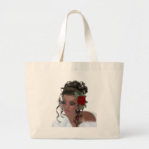 African American Woman Tote Bag