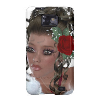 African American Woman Samsung Galaxy S2 Cover