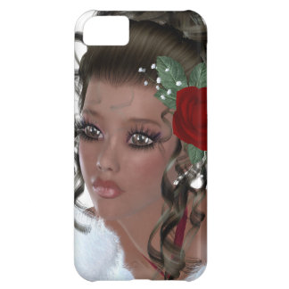 African American Woman Case For iPhone 5C