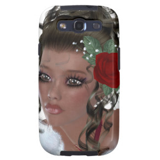 African American Woman Samsung Galaxy S3 Case