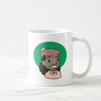 African American Woman Golfer Coffee Mug