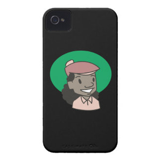 African American Woman Golfer iPhone 4 Case-Mate Cases