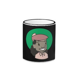 African American Woman Golfer Mug