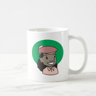 African American Woman Golfer Mugs