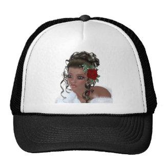 African American Woman Trucker Hat