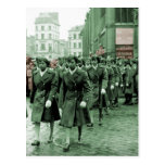 African American Women Marching Postcards