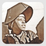 African American Women Patriots Sticker