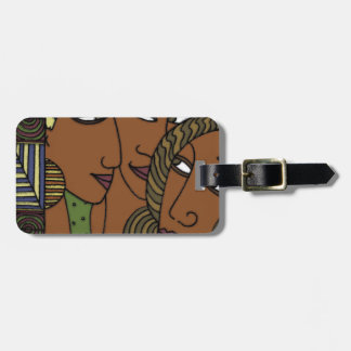 African American women sister friends Luggage Tag