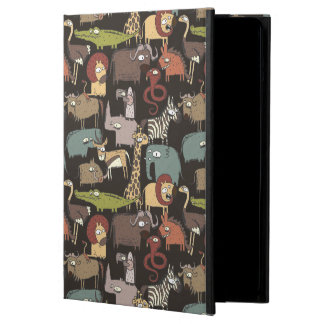 African Animals Pattern iPad Air Cover