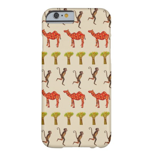 African Animals Pattern iPhone 6/6s, Barely There Barely