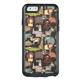 African Animals Pattern OtterBox iPhone 6/6s Case
