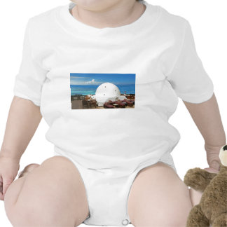 african architecture baby bodysuit