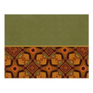 African Art 4 Post Card