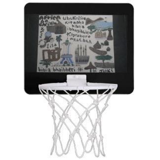 African art basketball net mini basketball hoop