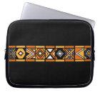 African art pattern laptop sleeve