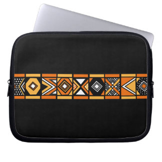 African art pattern laptop sleeves