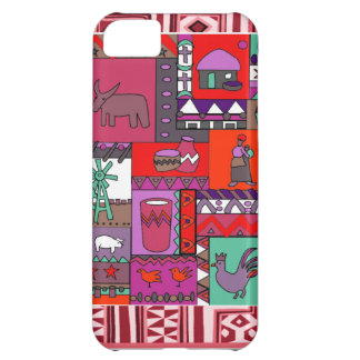 African artifacts -pink iPhone 5C case