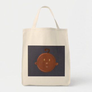 african baby grocery tote bag
