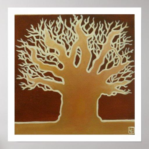 African Baobab #2 Poster
